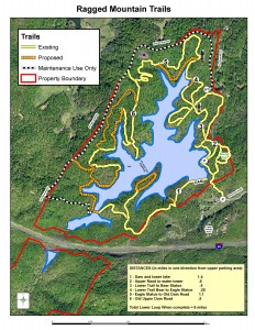 Ragged Mountain Trail Map