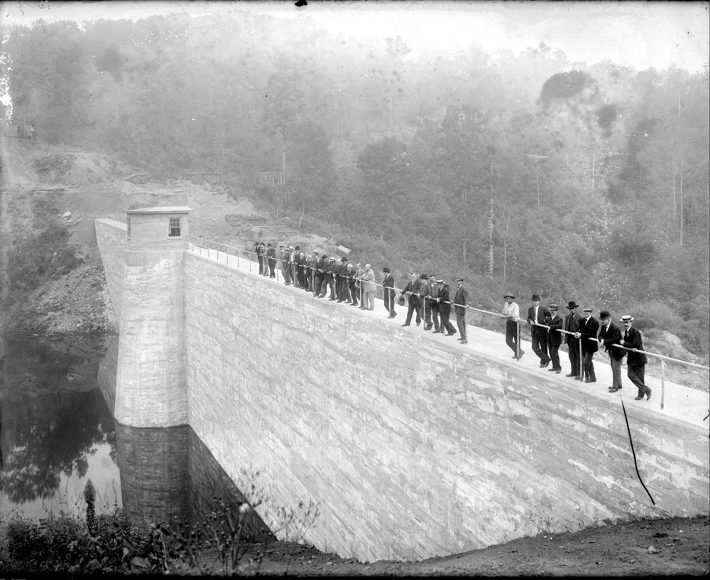 Holsinger photo of Ragged Mtn Dam