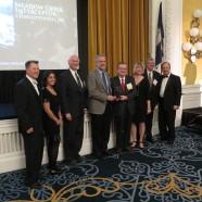 Rivanna accepts ACECVA Engineering Honor Award tonight!