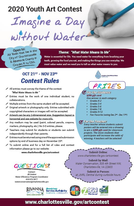 Imagine a Day Without Water Art Contest