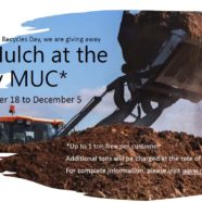 Free Mulch at the Ivy MUC
