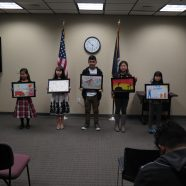 Winners of Art Contest Celebrated!